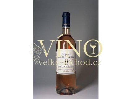 Domaine Camaissette Rosé AOP 0,75 L suché francouzské růžové víno z Provence
