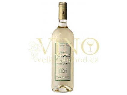 """Víno - Chateau De Fontlade Cuvée """"Saint-Qvinis"""" AOC blanc 2011"""