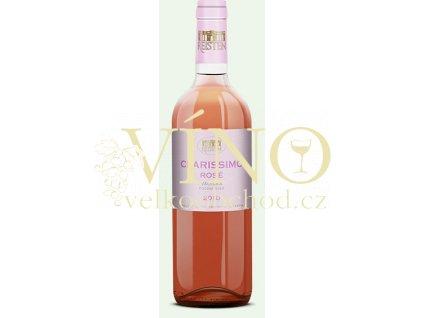 Víno Reisten Classic Clarissimo Rosé 2010 pozdní sběr suché Valtická