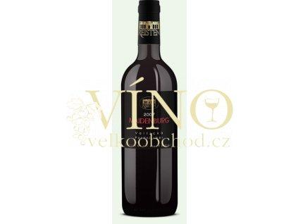 Víno Reisten Maidenburg Merlot 2007 pozdní sběr suché Valtická