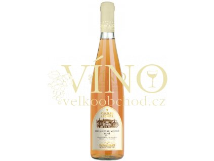 Víno - CHATEAU LEDNICE Rulandské modré rosé 2011 pozdní sběr, polosladké 0,75 l
