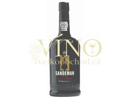 Sandeman Ruby Porto 0,75 L červené sladké portské víno z Douro