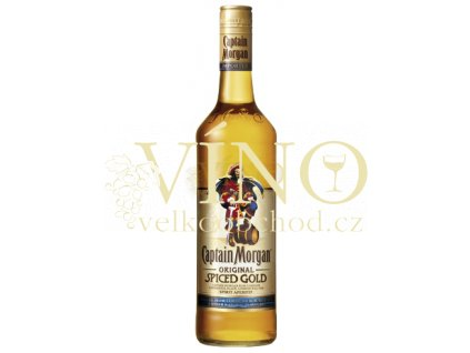 Captain Morgan Spiced Gold 0,7 L 35% jamajský rum