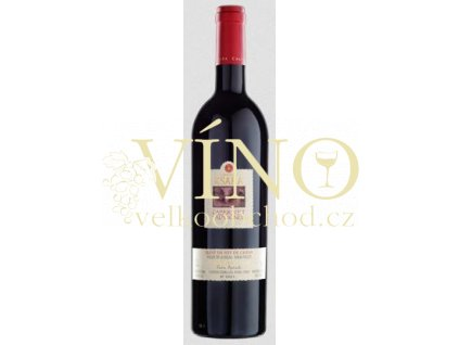 Víno Chareau Ksara Cabernet Sauvignon 2010 Libanon