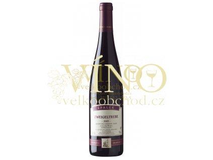 Špalek Zweigeltrebe 2009 Kraví hora  odrůdové jakostní víno suché 0,75
