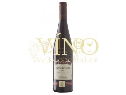 Špalek Zweigeltrebe 2008 Kraví hora  odrůdové jakostní víno suché 0,75