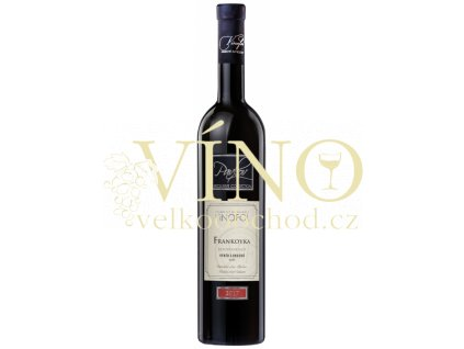Víno Frankovka Pavlov Exclusive výběr z hroznů červené suché 2017 0,75 l Vinofol Novosedly