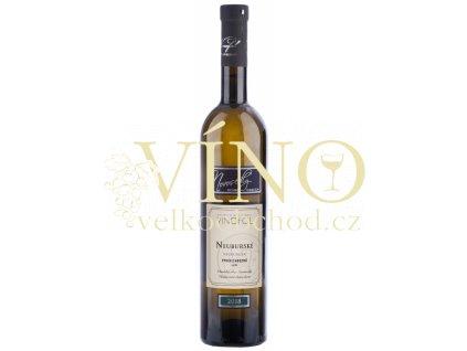 Víno Neuburské výběr z hroznů bílé suché 2018 0,75 l, Vinofol Novosedly
