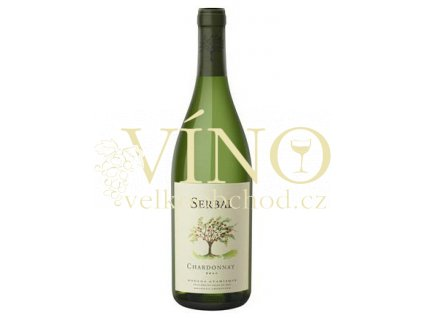 Víno Serbal Chardonnay 2017 0,75 l bílé Bodega Atamisque Tupungato Argentina