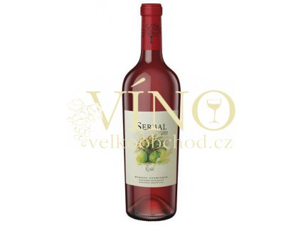 Víno SERBAL Rosé 2010 0.75 L rosé Bodega Atamisque Tupungato Argentina