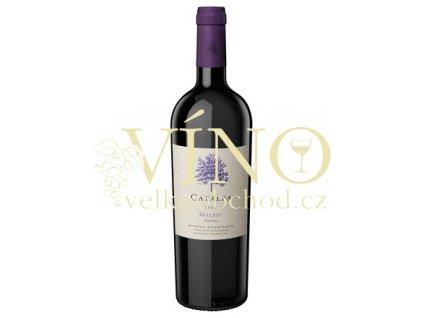 Víno Catalpa Malbec 2016 0,75 l červené Bodega Atamisque Tupungato Argentina