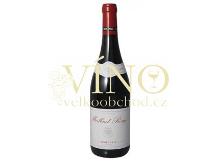 Domaine Moillard Rouge Languedoc 0,75 l suché červené franocuzské víno
