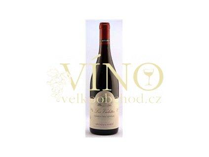 Víno Cotes du Rhône Les Violettes 2012 0.75 L červené Moillard Côtes du Rhône Francie
