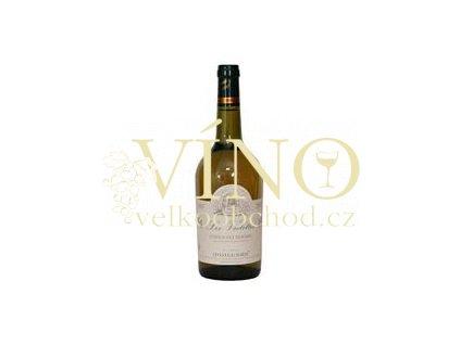 Víno Côtes du Rhône Les Violettes Blanc 2007 0.75 L bílé Moillard Côtes du Rhône Franice