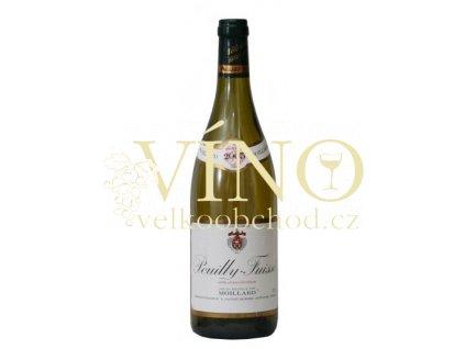 Víno Pouilly-Fuissé 2007 0.75 L bílé Moillard Maconnaise Francie