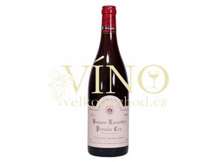Víno Beaune-Epenottes 1er Cru 2002 0.75 L červené Moillard Côte de Beaune Francie