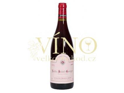 Víno Nuits St. Georges 1er Cru Les Thorey 2002 0.75 L červené Moillard Côte de Nuits Francie