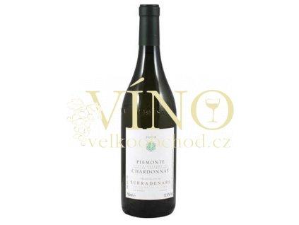 Víno Chardonnay Serradenari 2008 0.75 L bílé Piemonte Itálie