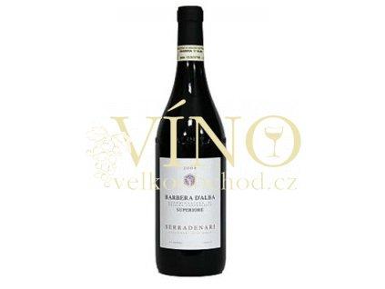 Víno Barbera d`Alba Serradenari 2007 0.75 L červené Piemonte Itálie