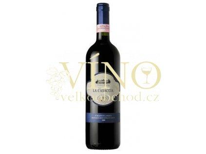 Víno Chianti Classico La Casaccia 2009 0.75 L červené XvX di Lorenzo Zunino Toscana Itálie