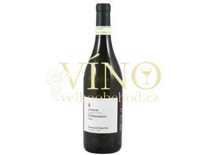 Víno Langhe Chardonnay 2008 0.75 L bílé Cavalier Diatto Piemonte Itálie