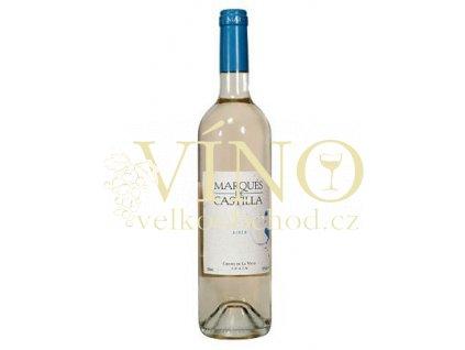 Víno Marqués de Castilla Blanco 2016 0,75 l bílé Cristo de la Vega La Mancha Španělsko