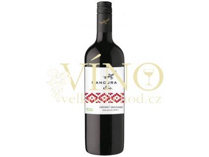 Morandé Mancura Etnia Cabernet Sauvignon 0,75 l suché chilské červené víno z Central Valley