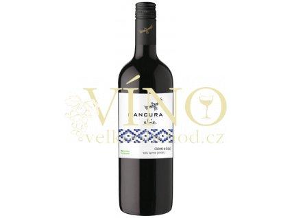 Morandé Mancura Etnia Carmenére 0,75 l suché chilské červené víno z Central Valley