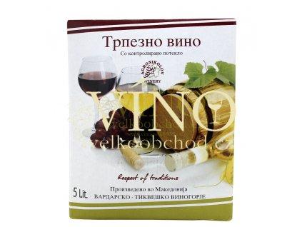 BIB Agronikolov 5 L červené víno