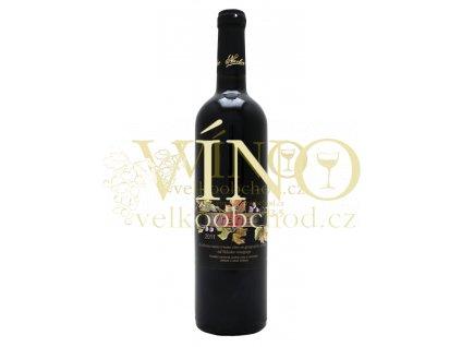 Víno Agronikolov Vranec 0,75 L červené