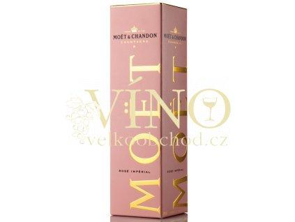 Moët & Chandon rosé - krabička