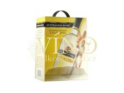 Víno Australian Bush Chardonnay Colombard BIB 3 l australské bílé bag in box