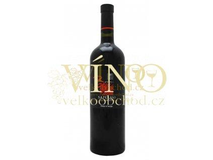 BESINI Saperavi suché 0,75 L červené gruzínské víno 13,5%