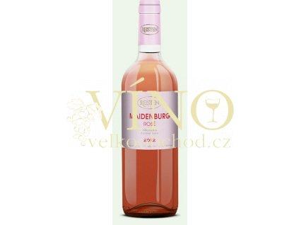 Víno Reisten Maidenburg Rosé 2012 pozdní sběr suché Valtická