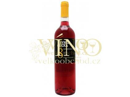 Zbyněk Osička Svatovavřinecké Rosé 2012 kabinet 0,75 L suché moravské růžové víno Velké Bílovice