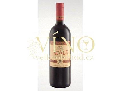 Víno SKALE 2006 Family Reserve pozdní sběr cuvée Springer 0.75 L