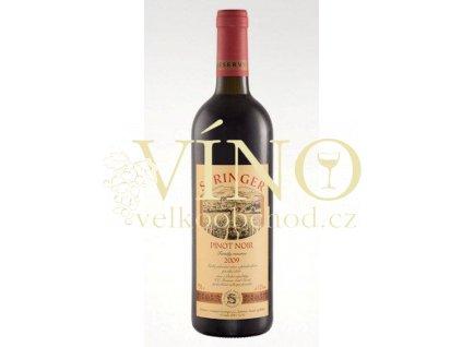Víno Pinot Noir 2007 výběr z hroznů Springer 0.75 L