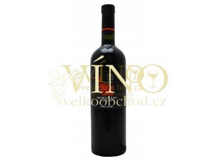 BESINI Mukuzani suché 0,75 L červené gruzínské víno 13,5%