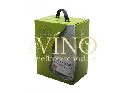 Akce ihned J.P.CHENET COLOMBARD SAUVIGNON Blanc de blancs BIB 5 L francouzské bílé víno bag in box