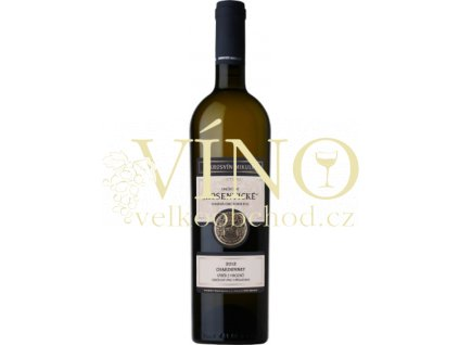 Mikrosvín Mikulov Traditional line Chardonnay 2015 výběr z hroznů 0,75 l polosuché bílé víno