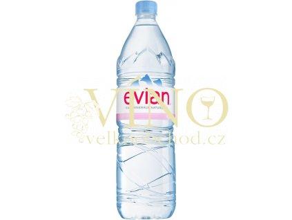 Evian 1,5 l PET 1500 ml nesycená pramenitá voda