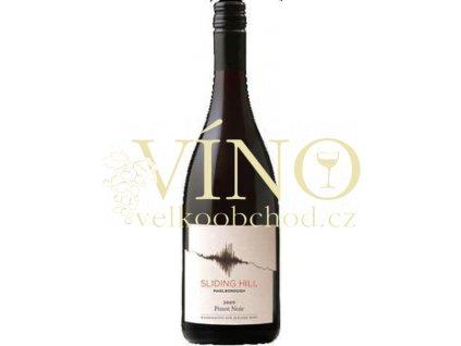 Sliding Hill Pinot Noir 0,75 l suché novozélandské červené víno z Marlborough