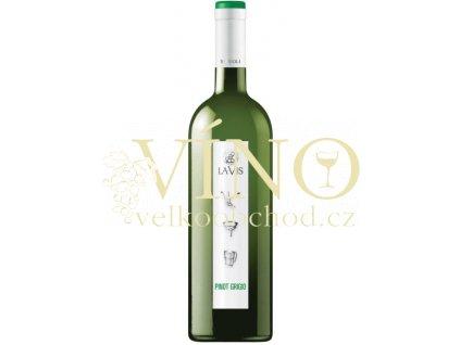 La-vis Pinot Grigio Simboli DOC italské bílé víno z oblasti Trentino