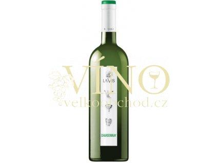 La-vis Chardonnay Simboli DOC italské bílé víno z oblasti Trentino