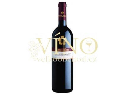 Tenuta Castelbueno (Ferrari) Montefalco Rosso DOC italské červené víno z oblasti Toscana