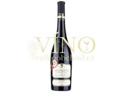 Moravské červené André 42/10 pozdní sběr suché 2010 0.75 L vinařství U Kapličky