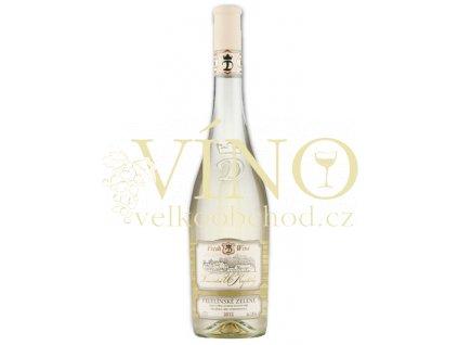Moravské bílé Veltlínské zelené 17/12 pozdní sběr suché 2012 0.75 L vinařství U Kapličky