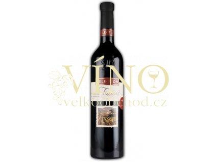 Moravské červené Frankovka 33/10 pozdní sběr suché 2010 0.75 L vinařství U Kapličky