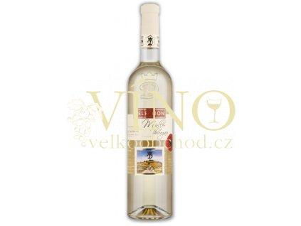 Moravské bílé Müller Thurgau 7/12 kabinetní suché 2012 0.75 L vinařství U Kapličky