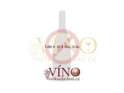 Moravské červené Frankovka 0507 slámové sladké 2007 0,2 L vinařství U Kapličky